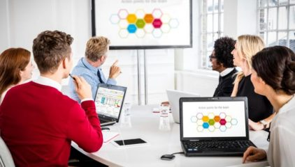 WIRELESS PRESENTATION SOLUTION FOR BOARDROOMS/MEETING ROOMS
