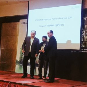 Awarded as the APAC Most Supportive Partner