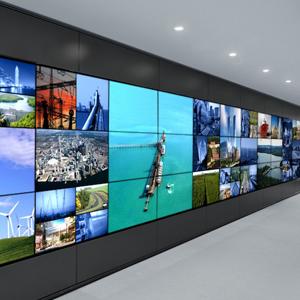 The Wall display