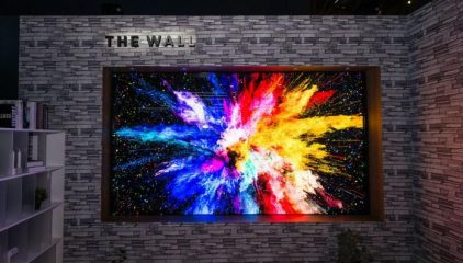 The Wall Professional MicroLED Display