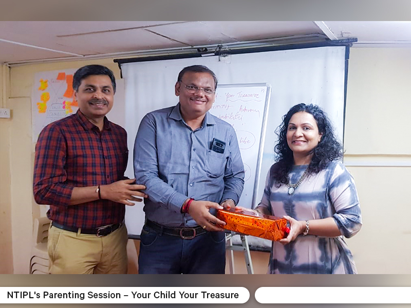 NTIPL Parenting Session - Your Child Your Treasure 2