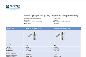 Capacitor Specification Sheet