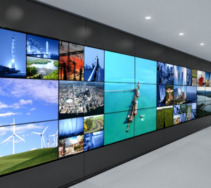 Video wall on Rent
