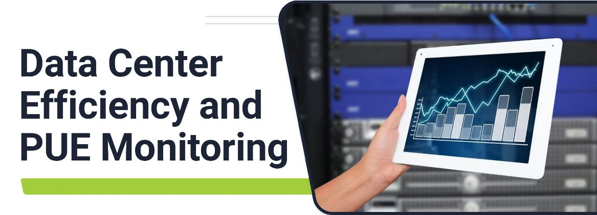 Data Center Efficiency and PUE Monitoring - WB Banner