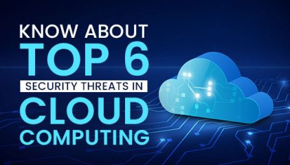 Know about Top 6 Security Threats in Cloud Computing
