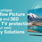 Get the unique superfine picture quality and 360 Smart TV protection with your next Display Solutions.
