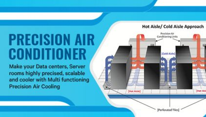 Precision Air Conditioner  Make your Data centers, Server rooms highly precised and scalable